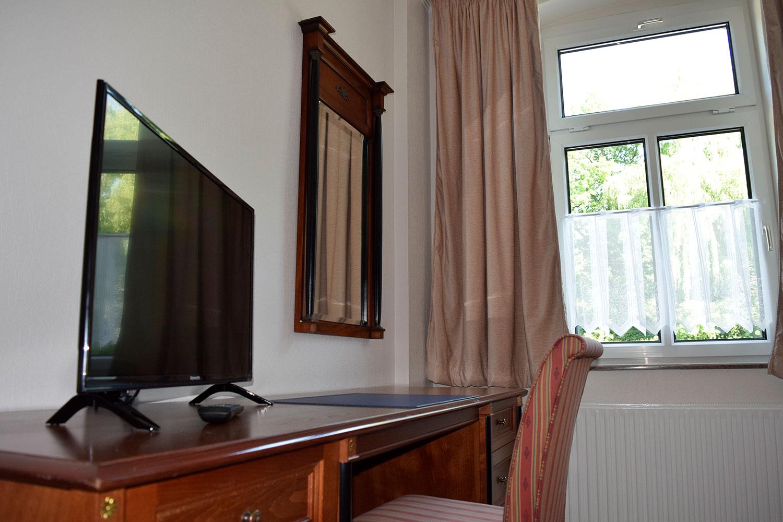 Doppelzimmer TV
